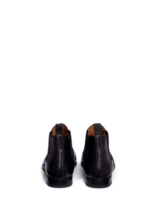 Back View - Click To Enlarge - MAGNANNI - Leather Chelsea boots