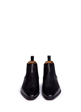 Front View - Click To Enlarge - MAGNANNI - Leather Chelsea boots