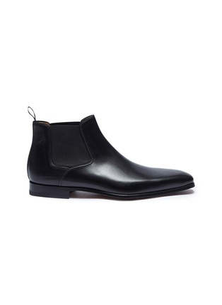 Main View - Click To Enlarge - MAGNANNI - Leather Chelsea boots