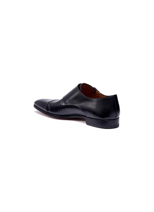 Detail View - Click To Enlarge - MAGNANNI - Double monk strap leather shoes