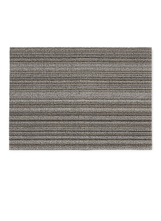Main View - Click To Enlarge - CHILEWICH - Shag Skinny Stripe doormat – Birch