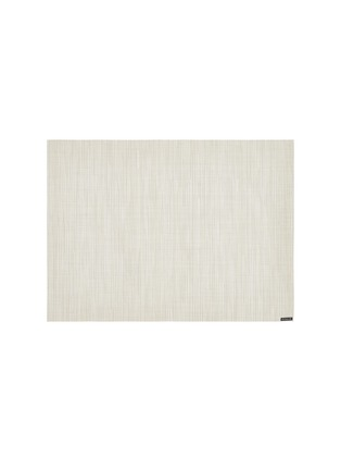 Main View - Click To Enlarge - CHILEWICH - Bamboo rectangle placemat – Chino