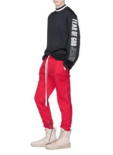 Fear of God Zip cuff sweatpants