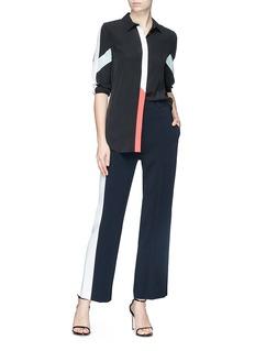Equipment 'Essential' stripe silk crepe shirt
