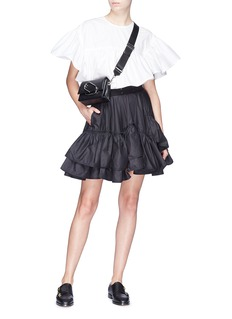 3.1 Phillip Lim Tiered ruffle flared skirt