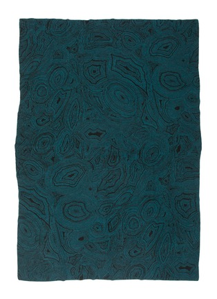 Main View - Click To Enlarge - SAVED - Malachite Teal throw