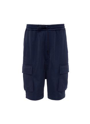 Main View - Click To Enlarge - Juun.J - Drop crotch cargo shorts