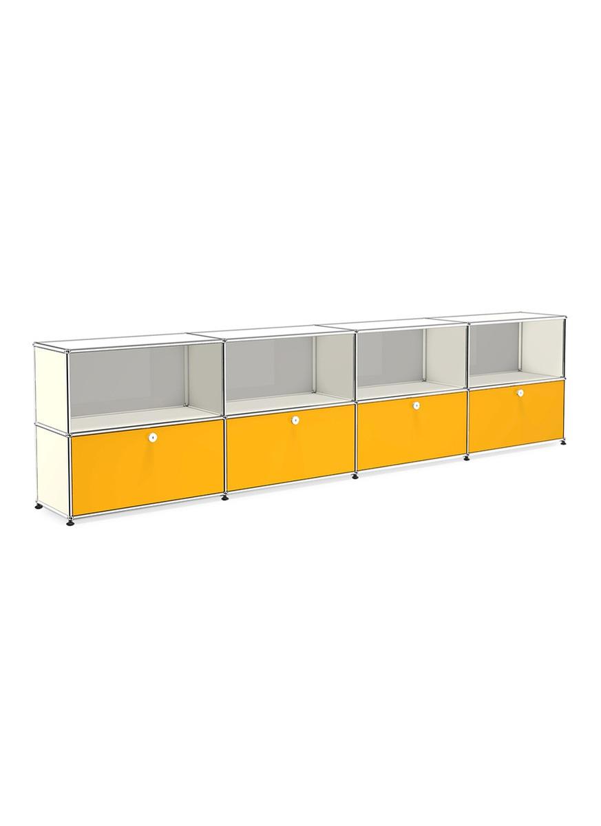 Usm Double Sideboard White Yellow Women Lane Crawford