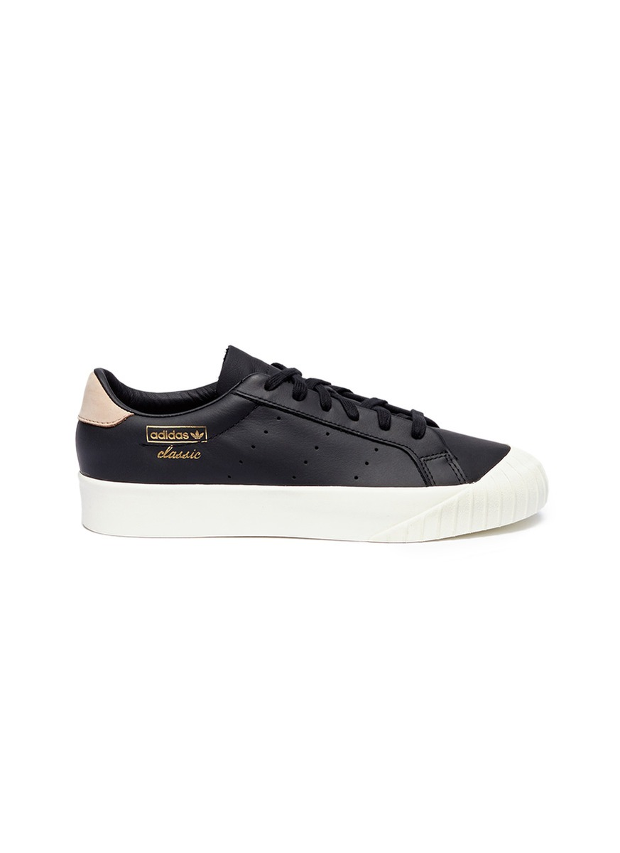 check out d97fc 971a9 adidas. Everyn leather sneakers
