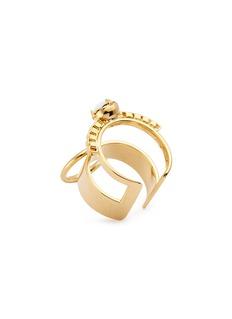 Joomi Lim 'Grandmistress Flash' two row band ring