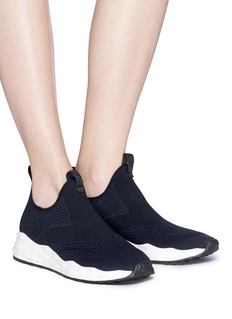 Ash 'Shake' mixed knit slip-on sneakers