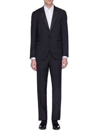Main View - Click To Enlarge - LANVIN - Wool-mohair suit