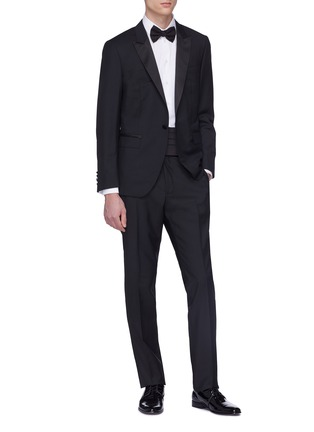 Figure View - Click To Enlarge - LANVIN - Wool-mohair suit