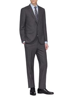 Lanvin 'Attitude' check plaid wool suit
