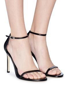 Stuart Weitzman 'Nudist Song' nappa leather sandals