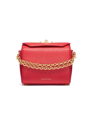 Main View - Click To Enlarge - Alexander McQueen - 'Box Bag 19' in fine grain leather