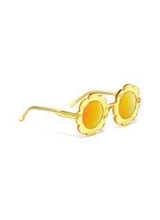 Sons+Daughters Eyewear 'Pixie' flower frame acetate mirror kids sunglasses