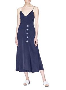 Christopher Esber Button slip dress