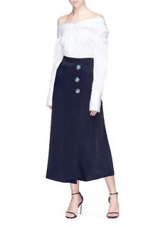 Christopher Esber Button skirt