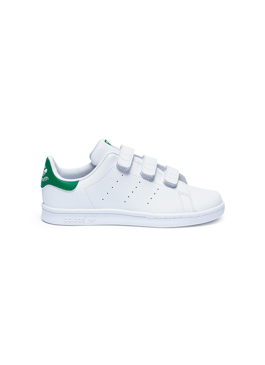 78166927989a2d Adidas.  Stan Smith CF C  leather kids sneakers