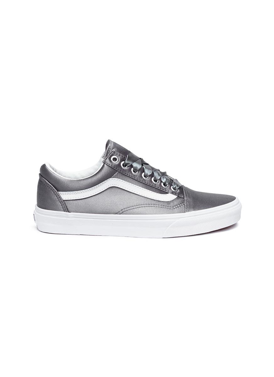 Satin Lux Old Skool sneakers by Vans