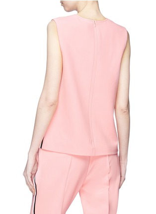 Back View - Click To Enlarge - VICTORIA, VICTORIA BECKHAM - Stripe outseam sleeveless shell top