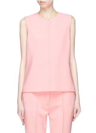 Main View - Click To Enlarge - VICTORIA, VICTORIA BECKHAM - Stripe outseam sleeveless shell top