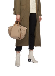 LOEWE 'Hammock' small colourblock calfskin leather bag