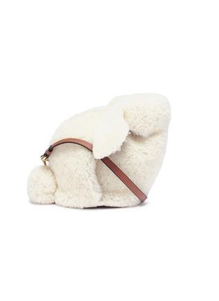 Main View - Click To Enlarge - LOEWE - 'Bunny' mini shearling bag