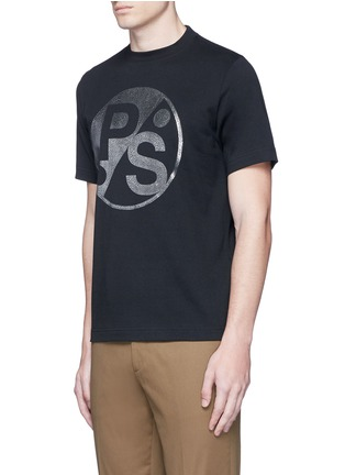 Front View - Click To Enlarge - PS Paul Smith - Logo print T-shirt