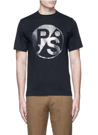 Main View - Click To Enlarge - PS Paul Smith - Logo print T-shirt
