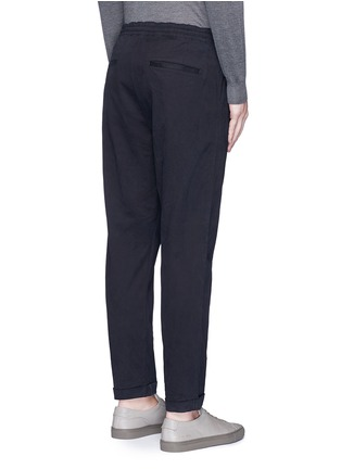 Back View - Click To Enlarge - PS Paul Smith - Standard fit drawstring corduroy pants