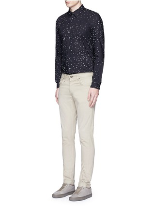 Figure View - Click To Enlarge - PS Paul Smith - Micro heart print cotton shirt