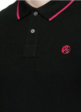 Detail View - Click To Enlarge - PS Paul Smith - Slim fit polo shirt