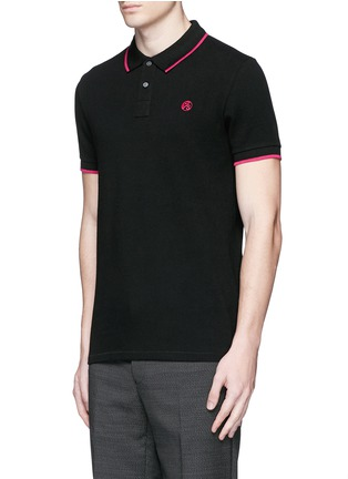 Front View - Click To Enlarge - PS Paul Smith - Slim fit polo shirt