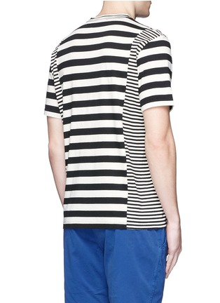 Back View - Click To Enlarge - PS Paul Smith - Stripe cotton T-shirt