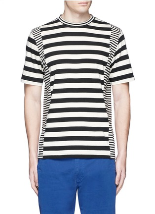 Main View - Click To Enlarge - PS PAUL SMITH - Stripe cotton T-shirt