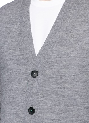 Detail View - Click To Enlarge - PS by Paul Smith - Merino wool cardigan