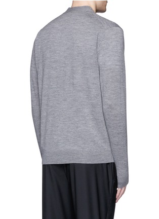 Back View - Click To Enlarge - PS Paul Smith - Merino wool cardigan