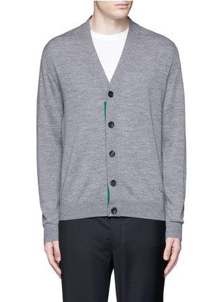 Main View - Click To Enlarge - PS Paul Smith - Merino wool cardigan