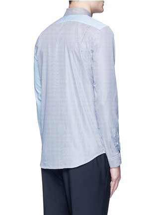 Back View - Click To Enlarge - PS Paul Smith - Multi stripe cotton shirt