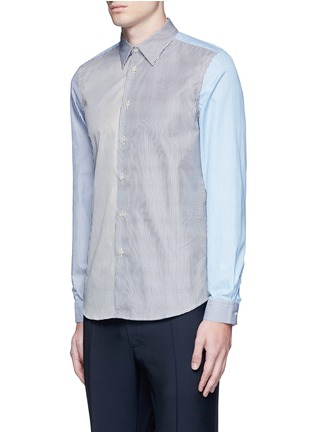 Front View - Click To Enlarge - PS Paul Smith - Multi stripe cotton shirt