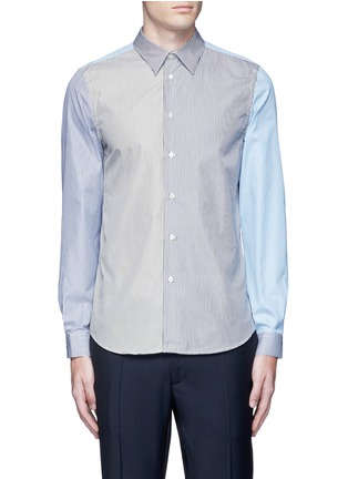 Main View - Click To Enlarge - PS Paul Smith - Multi stripe cotton shirt
