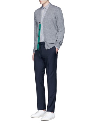 Figure View - Click To Enlarge - PS Paul Smith - Multi stripe cotton shirt