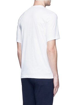 Back View - Click To Enlarge - PS PAUL SMITH - 'One Way' print T-shirt