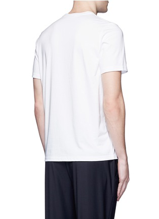 Back View - Click To Enlarge - PS Paul Smith - 'Tablet' print cotton T-shirt