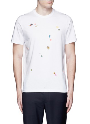 Main View - Click To Enlarge - PS Paul Smith - 'Tablet' print cotton T-shirt