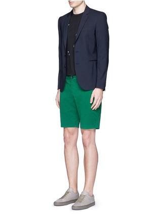 Figure View - Click To Enlarge - PS Paul Smith - Standard fit cotton chino shorts