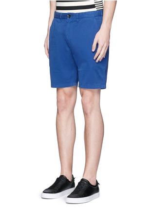 Front View - Click To Enlarge - PS Paul Smith - Standard fit cotton chino shorts