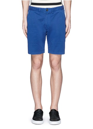 Main View - Click To Enlarge - PS Paul Smith - Standard fit cotton chino shorts